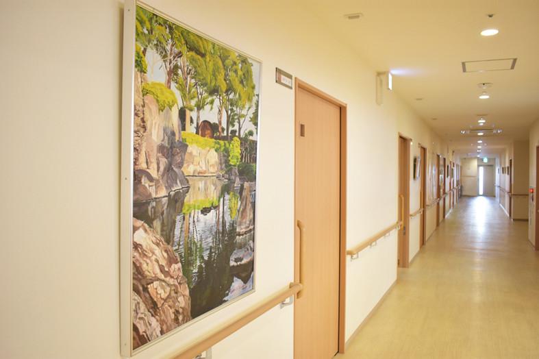 アミカの郷川口(介護付有料老人ホーム)の画像(10)廊下