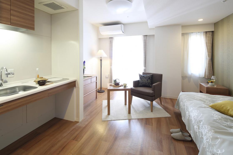 アリア恵比寿南(介護付有料老人ホーム(一般型特定施設入居者生活介護))の画像(2)3F 居室イメージ