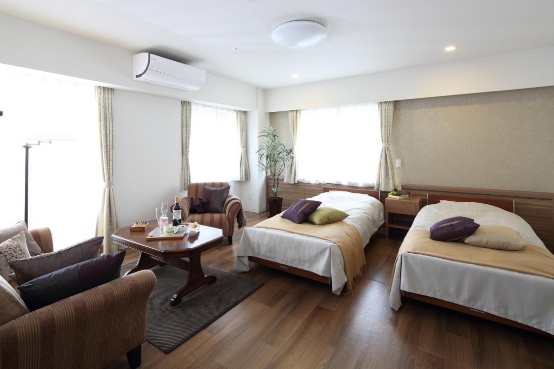 アリア恵比寿南(介護付有料老人ホーム(一般型特定施設入居者生活介護))の画像(3)4F 居室イメージ