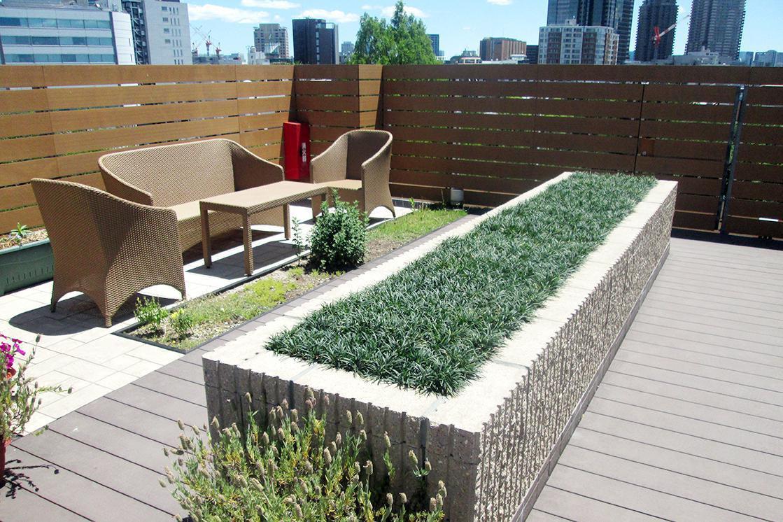 アリア恵比寿南(介護付有料老人ホーム(一般型特定施設入居者生活介護))の画像(9)5F 屋上庭園