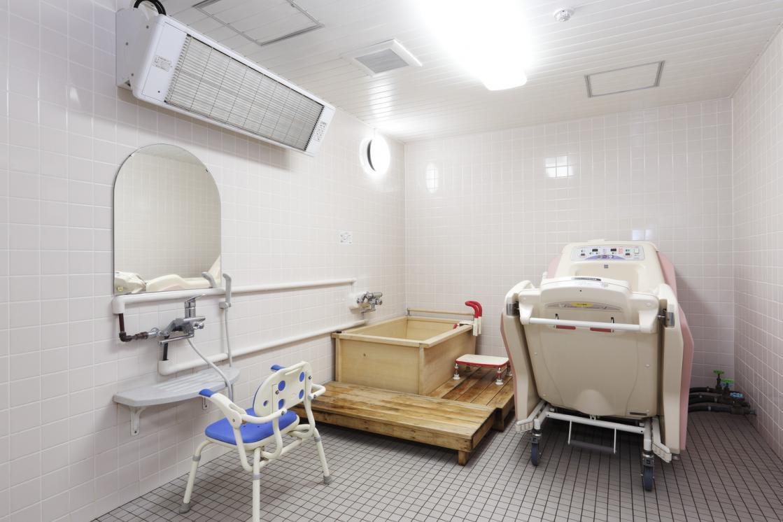 ボンセジュール花見川(介護付有料老人ホーム(一般型特定施設入居者生活介護))の画像(6)1F 浴室