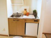 シルバーライフはなみずき(介護付有料老人ホーム)の画像(9)ミニキッチン