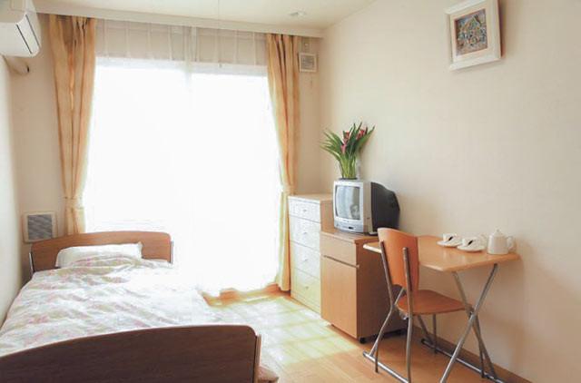 花珠の家おおもり(介護付有料老人ホーム)の画像(3)居室(全室個室)