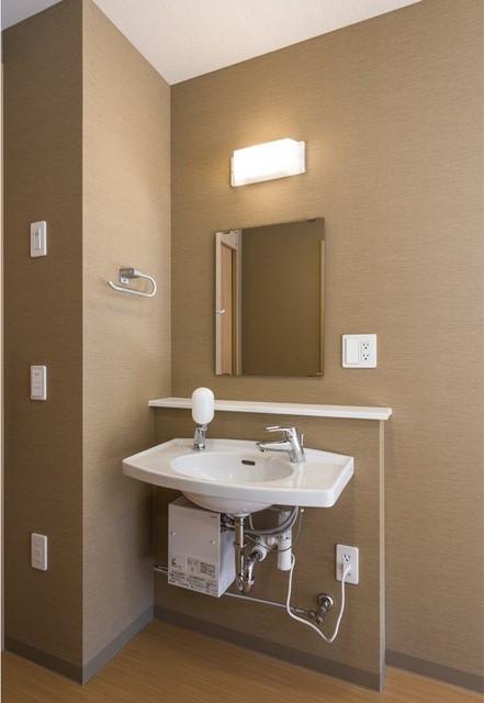 レジデンス足立島根(サービス付き高齢者向け住宅)の画像(8)居室洗面台