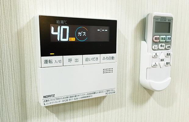ディーフェスタ川口芝高木(サービス付き高齢者向け住宅)の画像(24)1Kタイプ 給湯器