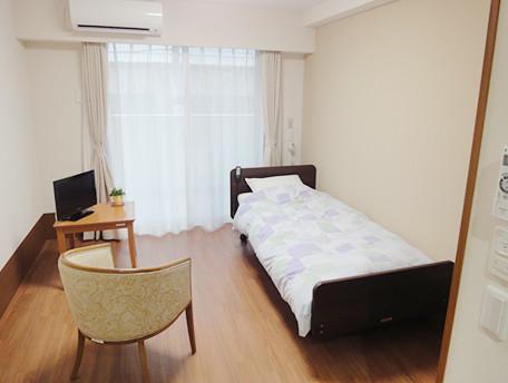 グッドタイムナーシングホーム・東糀谷(介護付有料老人ホーム)の画像(4)居室