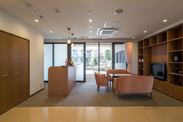 ラウンジヒル湘南台(サービス付き高齢者向け住宅)の画像(7)ロビー