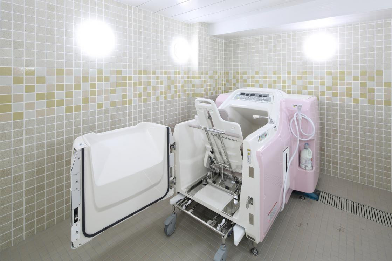 グランダ新高円寺(介護付有料老人ホーム(一般型特定施設入居者生活介護))の画像(8)1F 浴室
