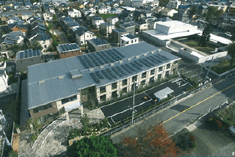 ハイムガーデン立川幸町(サービス付き高齢者向け住宅)の画像(4)上空からの景色