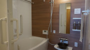 グランドマスト横浜浅間町(サービス付き高齢者向け住宅)の画像(5)居室内は浴室が完備