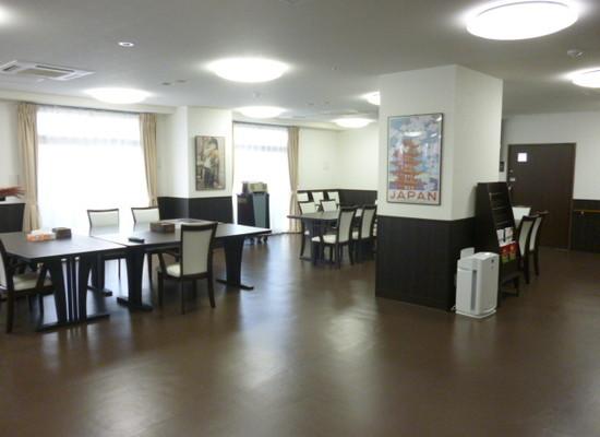リリーフモア北野(サービス付き高齢者向け住宅)の画像(2)食堂