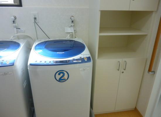 リリーフモア北野(サービス付き高齢者向け住宅)の画像(7)共用洗濯機