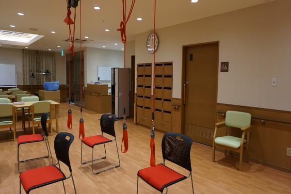 シノンあざみ野ノース(サービス付き高齢者向け住宅)の画像(3)リハビリルーム