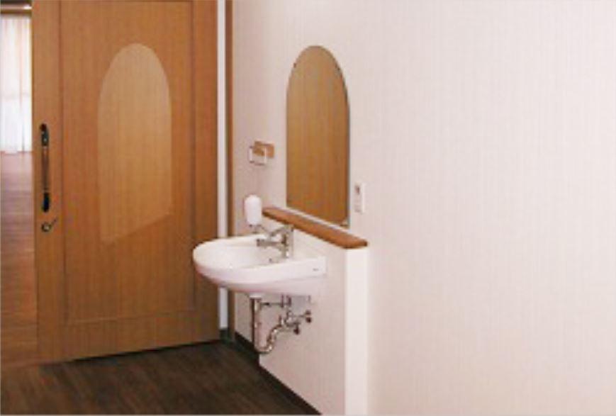 そんぽの家東川口(介護付有料老人ホーム)の画像(9)居室 洗面台