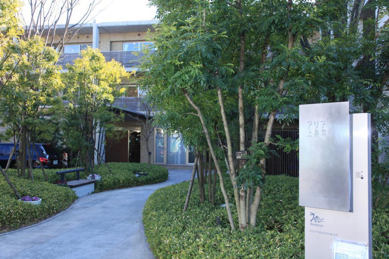 アリア上井草(介護付有料老人ホーム(一般型特定施設入居者生活介護))の画像(10)1F 庭