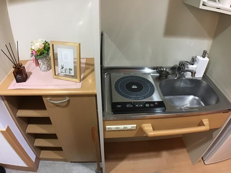 そんぽの家高円寺(介護付有料老人ホーム)の画像(11)居室キッチン