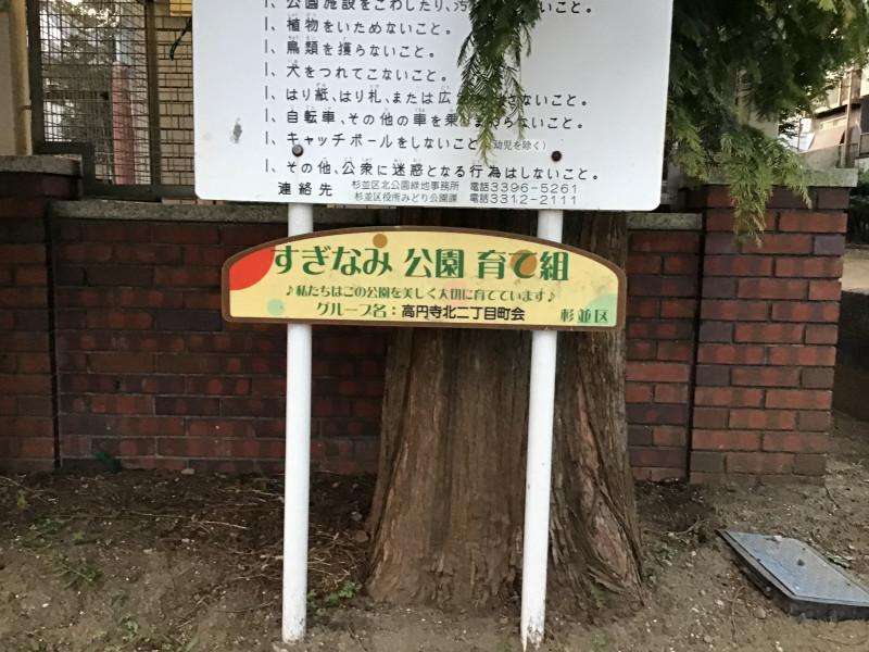 そんぽの家高円寺(介護付有料老人ホーム)の画像(22)最寄り公園
