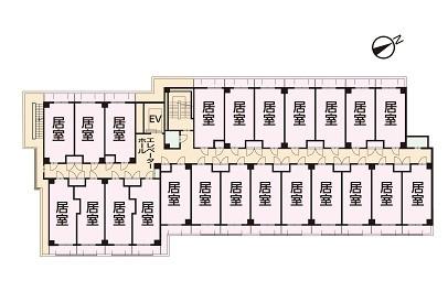 そんぽの家S高田(サービス付き高齢者向け住宅)の画像(9)