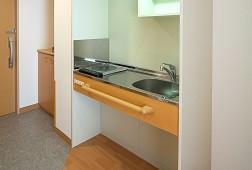 そんぽの家S上石神井(サービス付き高齢者向け住宅)の画像(8)居室のキッチンです♪