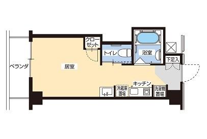 そんぽの家S板橋仲宿(サービス付き高齢者向け住宅)の画像(8)間取図