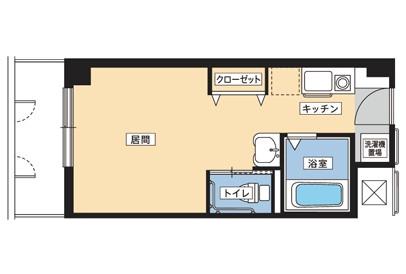 そんぽの家S綾瀬(サービス付き高齢者向け住宅)の画像(8)居室間取り図