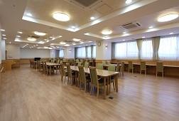 そんぽの家S扇大橋(サービス付き高齢者向け住宅)の画像(4)食堂