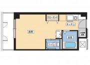 そんぽの家S扇東(サービス付き高齢者向け住宅)の画像(8)居室間取り図