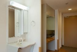 そんぽの家S北綾瀬(サービス付き高齢者向け住宅)の画像(4)居室洗面台
