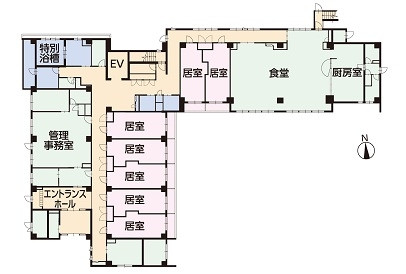 そんぽの家S北綾瀬(サービス付き高齢者向け住宅)の画像(9)