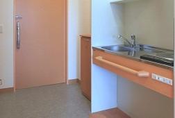 そんぽの家S豊四季(サービス付き高齢者向け住宅)の画像(7)居室キッチン