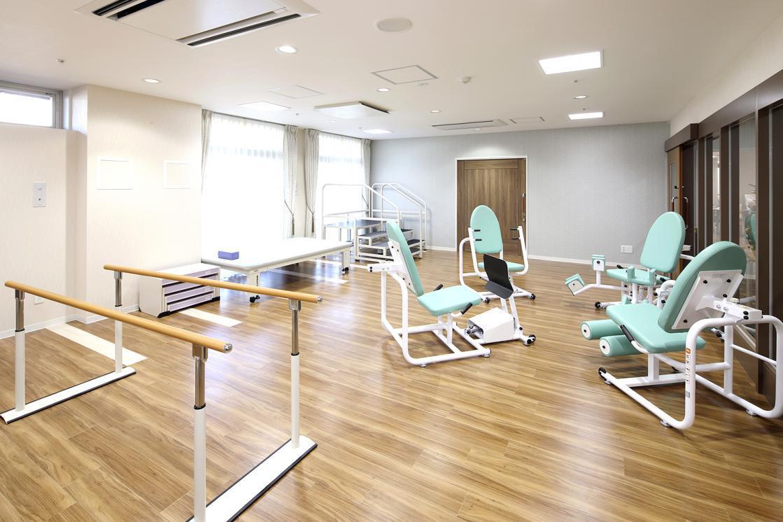 リハビリホームボンセジュール三ツ境(住宅型有料老人ホーム)の画像(6)1F 機能訓練室