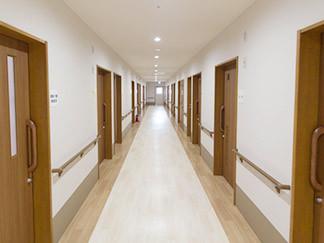花珠の家みどり(介護付有料老人ホーム)の画像(3)広々とした廊下