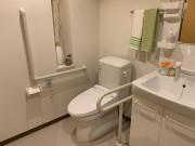 ライフコンフォート久里浜(シニア向け賃貸マンション)の画像(8)トイレ手すりつき
