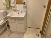 ライフコンフォート久里浜(シニア向け賃貸マンション)の画像(9)洗面台・洗濯機置き場