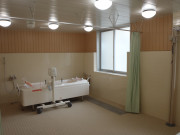 スタイルケア越谷(介護付有料老人ホーム(一般型特定施設入居者生活介護)/サービス付き高齢者向け住宅)の画像(5)機械浴です。
