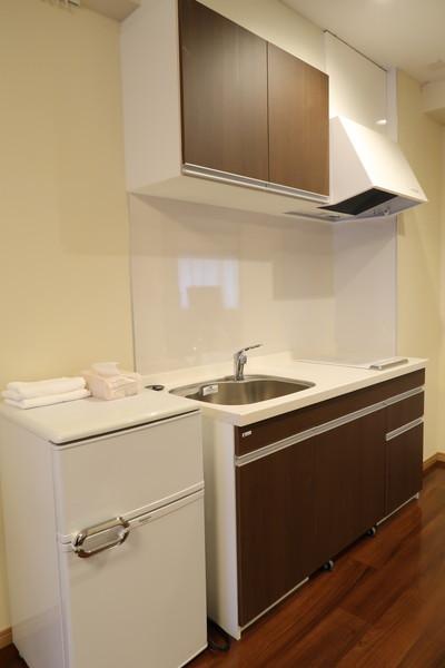 シンセリティ千代田一番町(介護付有料老人ホーム)の画像(6)二人部屋のキッチン