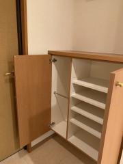 ヴェルジェ新横浜Ⅲ なしの郷(サービス付き高齢者向け住宅)の画像(14)下駄箱収納