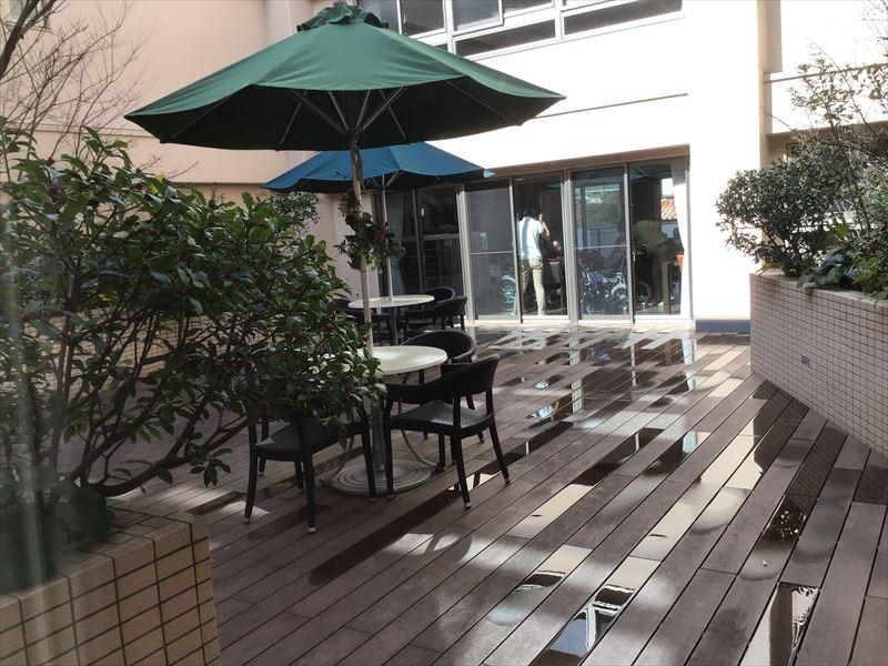 ニチイホーム用賀 (介護付有料老人ホーム(一般型特定施設入居者生活介護))の画像(15)中庭