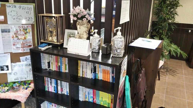 ハーウィル東大宮(サービス付き高齢者向け住宅)の画像(16)ハーウィル東大宮書棚