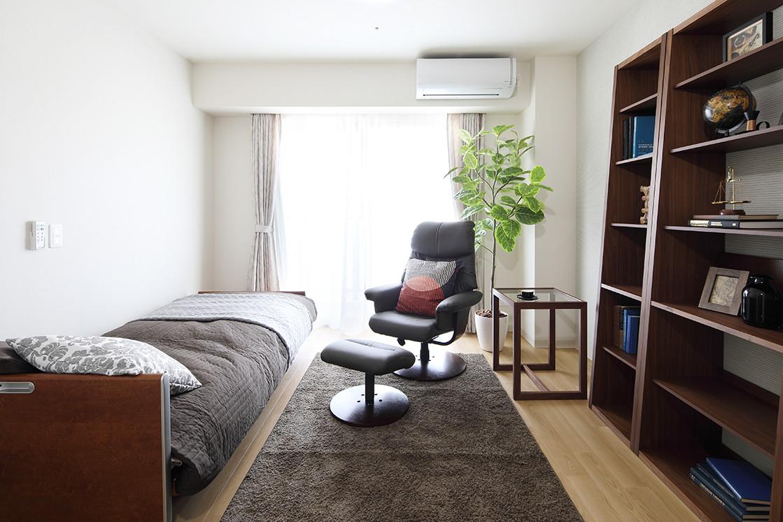 グランダ武蔵野弐番館(住宅型有料老人ホーム)の画像(2)Aタイプ居室イメージ