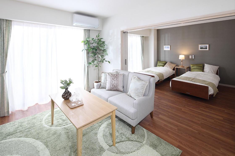 グランダ武蔵野弐番館(住宅型有料老人ホーム)の画像(3)Bタイプ居室イメージ