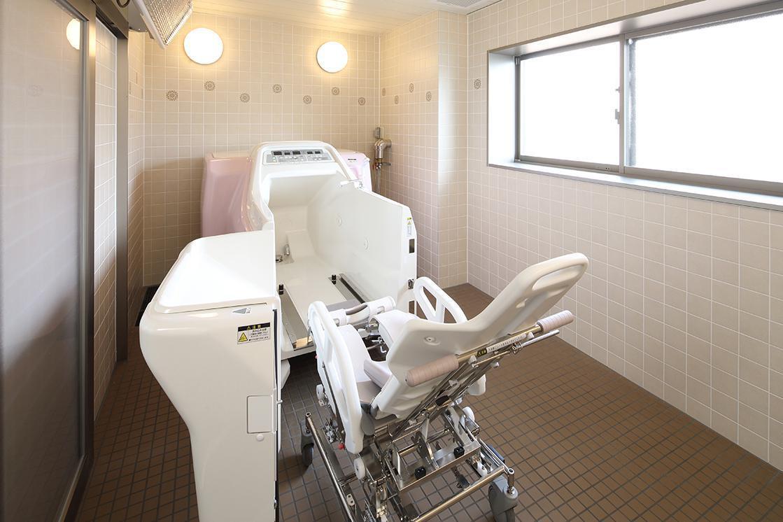 グランダ武蔵野弐番館(住宅型有料老人ホーム)の画像(9)機械浴室