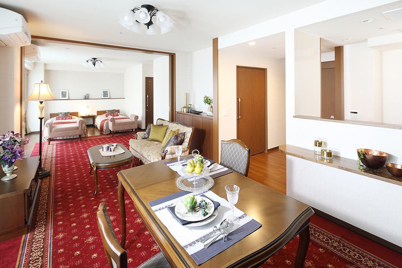 アリア松濤(介護付有料老人ホーム(一般型特定施設入居者生活介護))の画像(3)Bタイプ居室