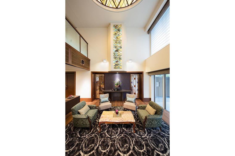 アリア松濤(介護付有料老人ホーム(一般型特定施設入居者生活介護))の画像(4)エントランスラウンジ