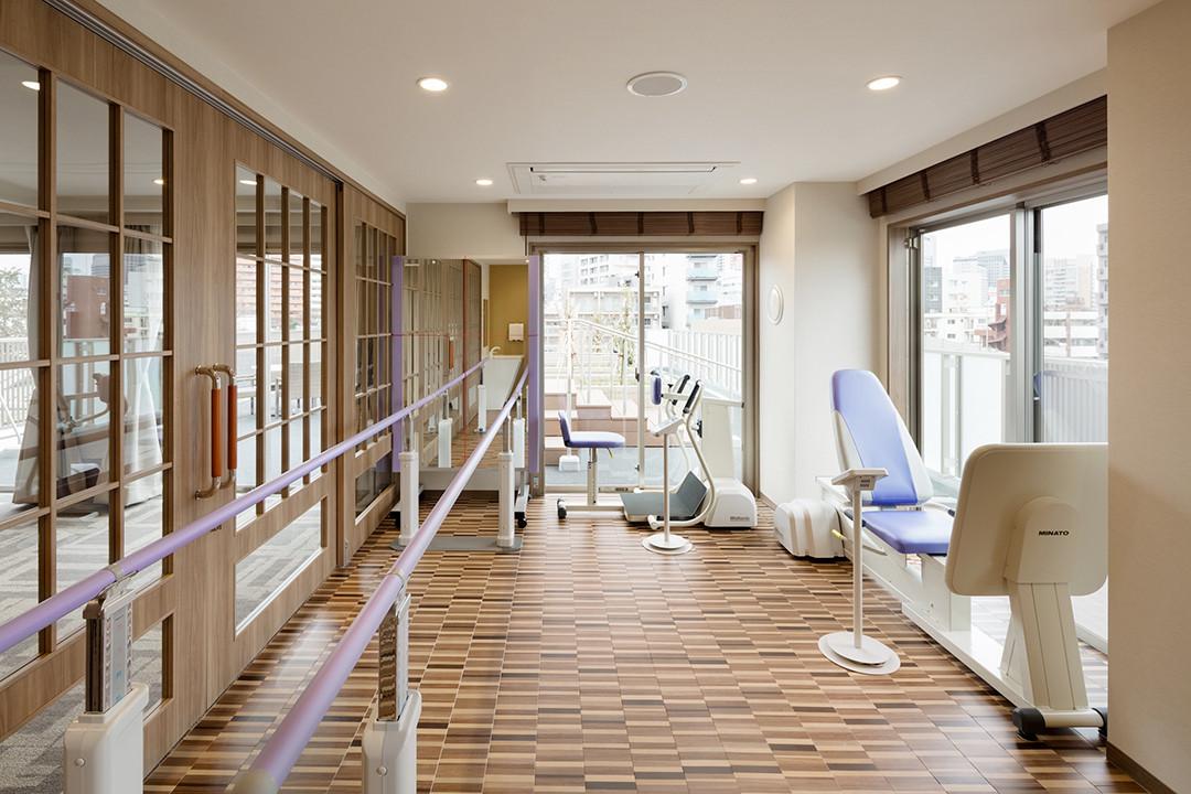 グランダ初台(介護付有料老人ホーム(一般型特定施設入居者生活介護))の画像(9)機能訓練室