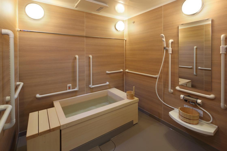 グランダときわ台南(介護付有料老人ホーム(一般型特定施設入居者生活介護))の画像(8)4F 浴室