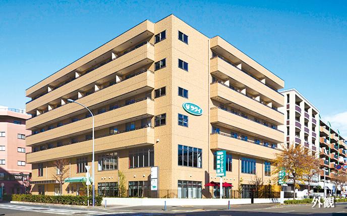 ツクイ・サンフォレスト横浜センター北 (サービス付き高齢者向け住宅)の画像(1)外観パース