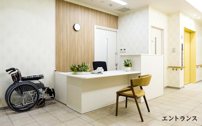 ツクイ・サンフォレスト横浜センター北 (サービス付き高齢者向け住宅)の画像(3)受付