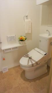 グランドマスト横浜鴨居(サービス付き高齢者向け住宅)の画像(11)お手洗い