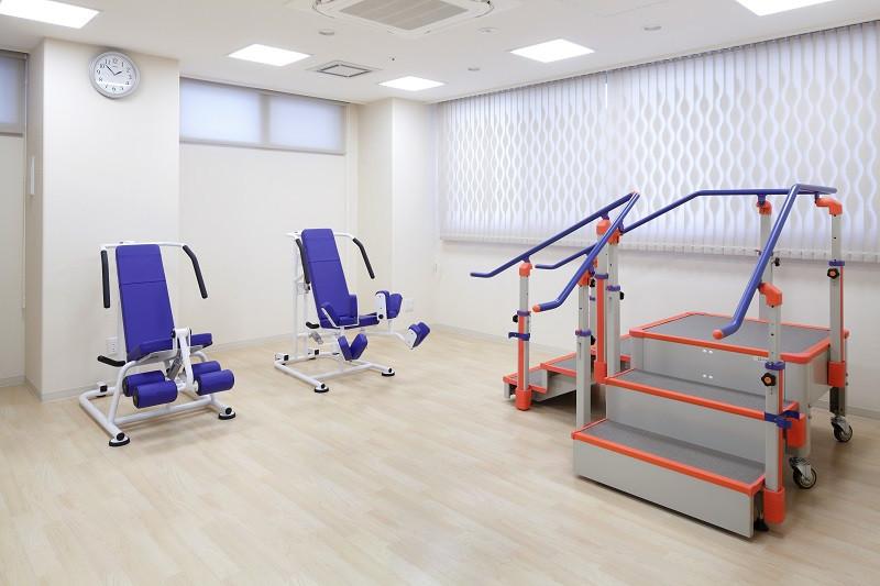 ニチイホーム不動前(介護付有料老人ホーム)の画像(9)機能訓練室